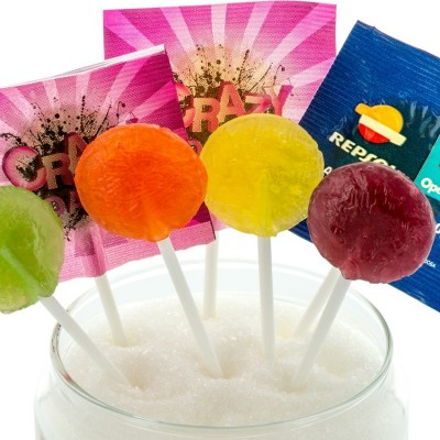 Lollipop Flat Sugar Free
