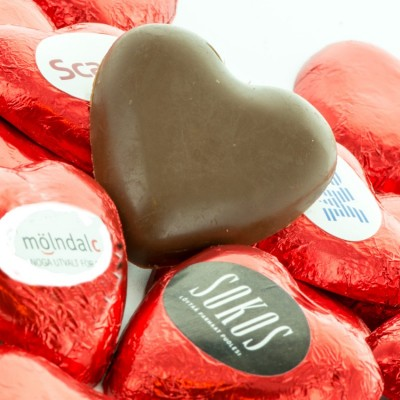 Choco Heart with Label